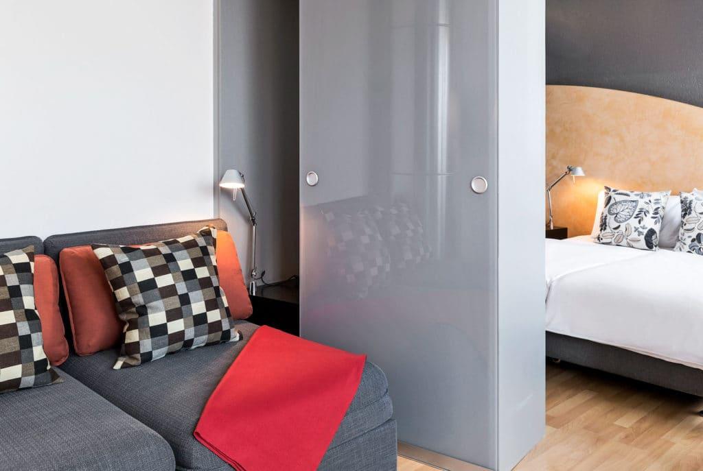 La Pergola Hotel in Bern Family Room lounge area